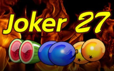 Игровой автомат Joker 27 plus
