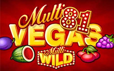Игровой автомат Multi Vegas 81